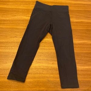 Tory Burch athletic tights just below knee small